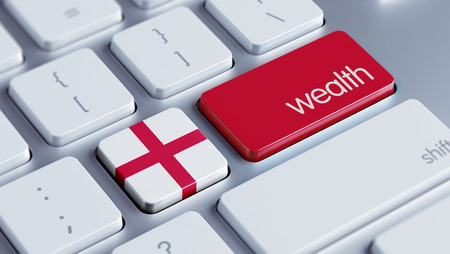 England High Resolution Wealth Concept