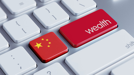China High Resolution Wealth Concept Stock Photo