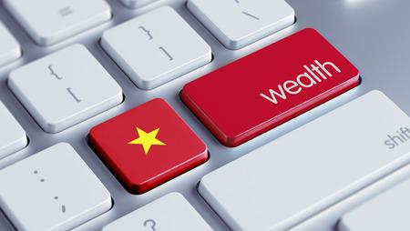 weal: Vietnam High Resolution Wealth Concept