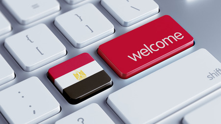 Egypt High Resolution Welcome Concept Stock Photo