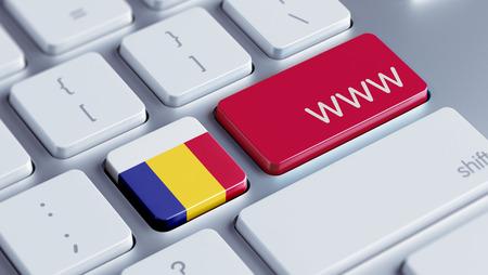Romania High Resolution www Concept photo