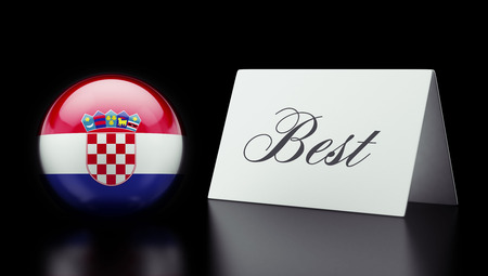 superlative: Croatia  High Resolution Best Concept