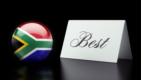 superlative: South Africa High Resolution Best Concept