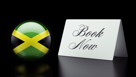 Jamaica High Resolution Book Now Concept photo