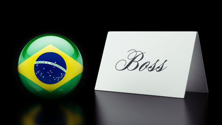 autocratic: Brazil High Resolution Boss Concept Stock Photo