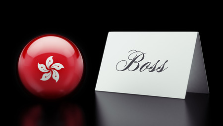 autocratic: Hong Kong High Resolution Boss Concept Stock Photo