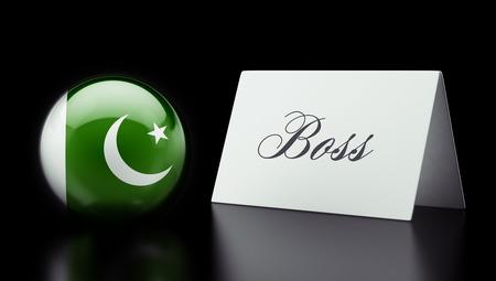 Pakistan High Resolution Boss Concept Stock Photo