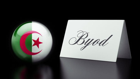 Algeria High Resolution Byod Concept Stock Photo - 28842528