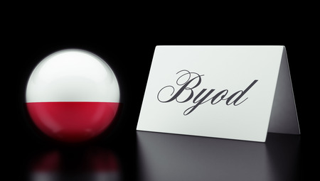 Poland High Resolution Byod Concept photo