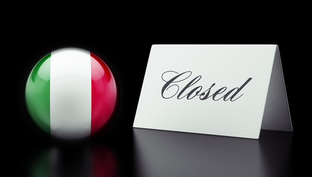 Italy High Resolution Closed Concept Stock Photo - 28843171
