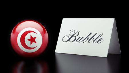 tunisie: Tunisia High Resolution Bubble Concept Stock Photo
