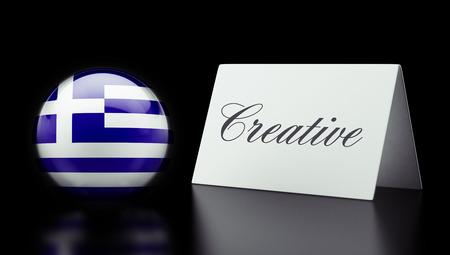 Greece High Resolution Creative Concept photo