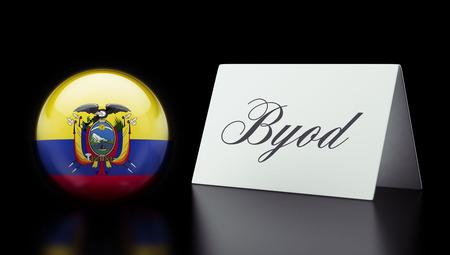 Ecuador High Resolution Sign Concept Stock Photo - 28850358