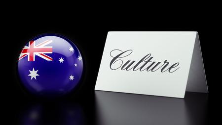 Australia High Resolution Culture Concept
