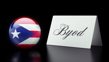 Puerto Rico High Resolution Byod Concept Stock Photo - 28850838