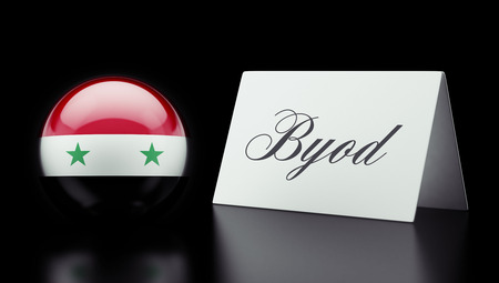 Syria High Resolution Byod Concept Stock Photo - 28850894