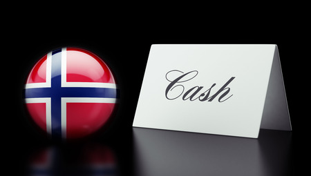 Norway High Resolution Cash Concept photo