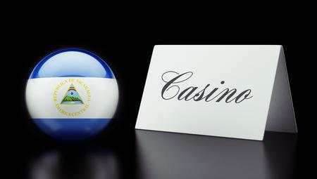 Nicaragua High Resolution Casino Concept photo