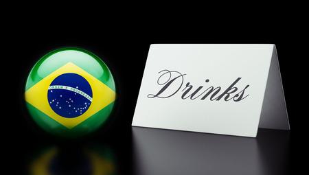 Brazil High Resolution Drinks Concept photo