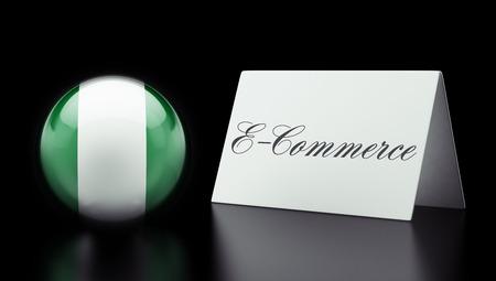 Nigeria  High Resolution E-Commerce Concept photo