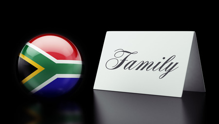 South Africa High Resolution Family Concept photo