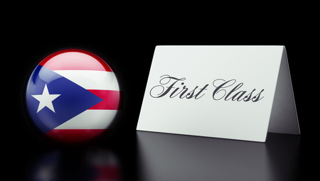 superlative: Puerto Rico High Resolution First Class Concept