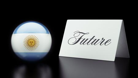 imminent: Argentina High Resolution Future Concept Stock Photo