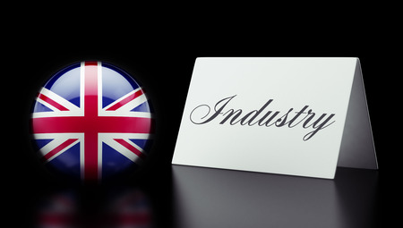 United Kingdom High Resolution Industry Concept photo