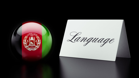 Afghanistan  High Resolution Language Concept