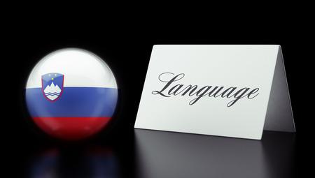 Slovenia High Resolution Language Concept