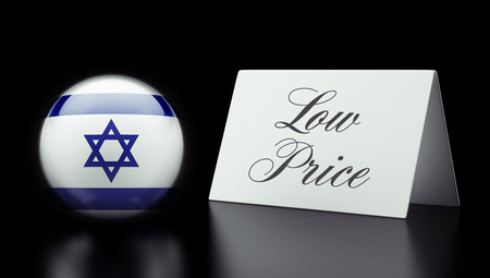 low price: Israel High Resolution Low Price Concept