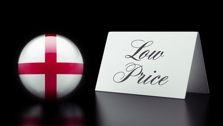 low price: England High Resolution Low Price Concept