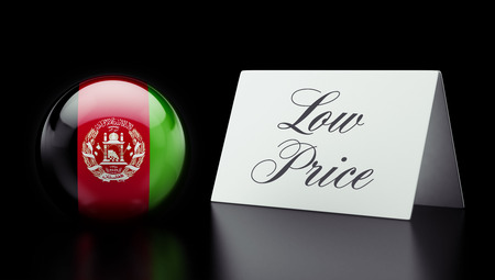 low price: Afghanistan  High Resolution Low Price Concept