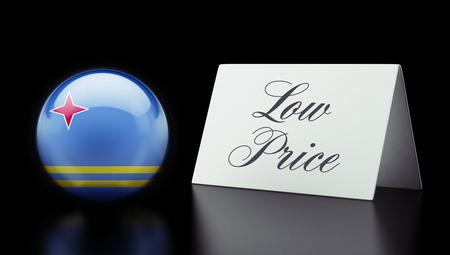 low price: Aruba Alta risoluzione Bassa Prezzo Concetto