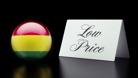 low price: Bolivia High Resolution Low Price Concept