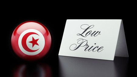 low price: Tunisia High Resolution Low Price Concept