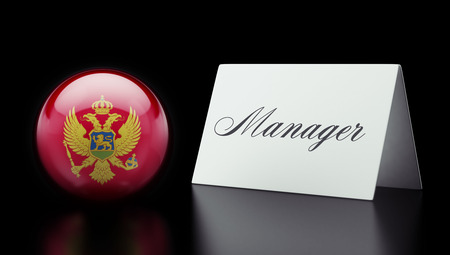 manage: Montenegro  High Resolution Manage Concept