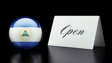 Nicaragua High Resolution Open Concept