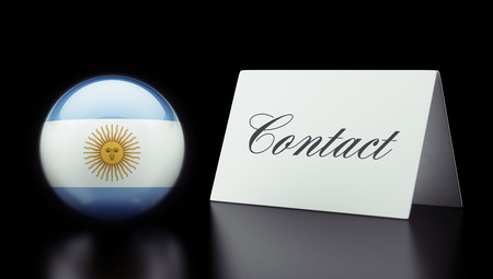 Argentina High Resolution Contact Concept photo