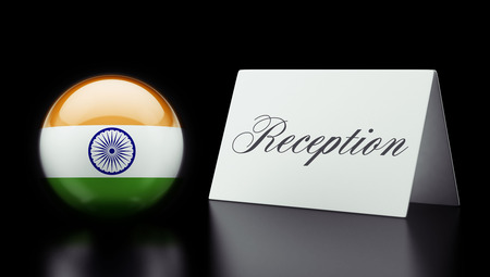 India High Resolution Reception Concept photo