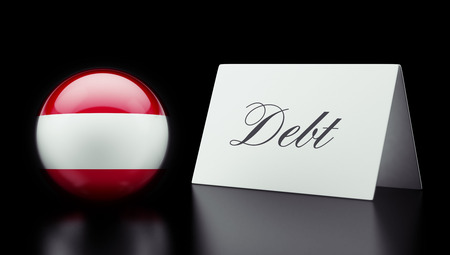 deficit: Austria High Resolution Debt Concept