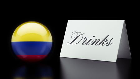 Colombia High Resolution Drinks Concept Stock Photo - 28895629