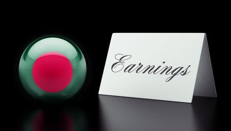 earnings: Bangladesh High Resolution Earnings Concept