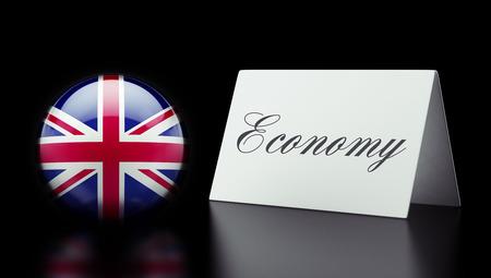 United Kingdom High Resolution Economy Concept photo