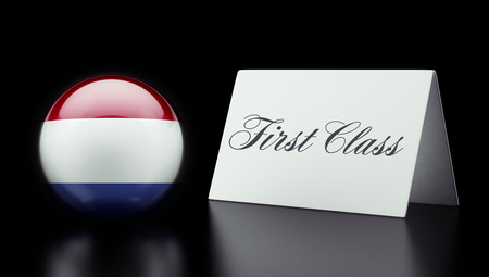 superlative: Netherlands High Resolution First Class Concept