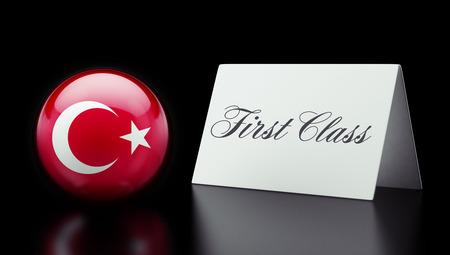 optimum: Turkey High Resolution First Class Concept Stock Photo
