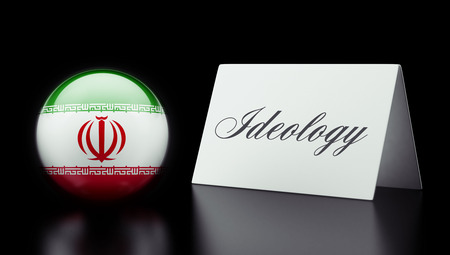 dogma: Iran High Resolution Ideology Concept Stock Photo