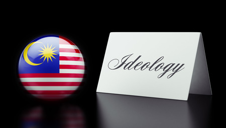 ideology: Malaysia High Resolution Ideology Concept