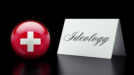 dogma: Switzerland High Resolution Ideology Concept Stock Photo