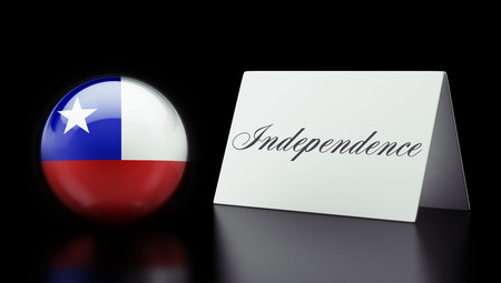 Chile High Resolution Independence Concept photo